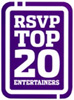 RSVP Top Twenty Entertainers